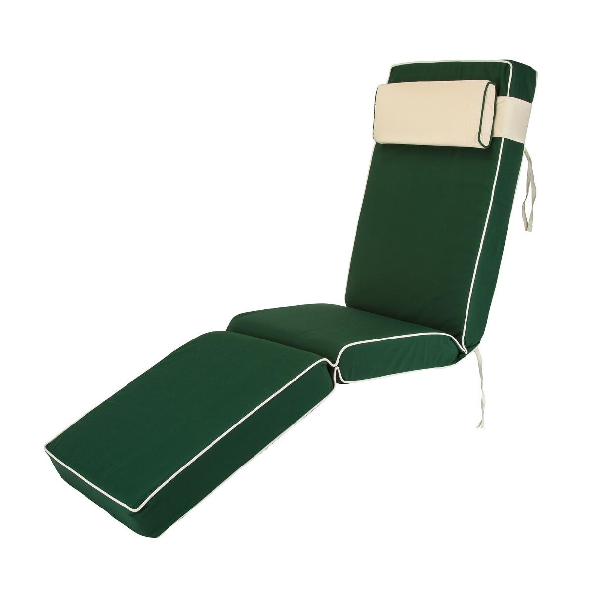 Luxury Green Sun Lounger