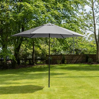 3m Aluminium Wind Up Garden Parasol