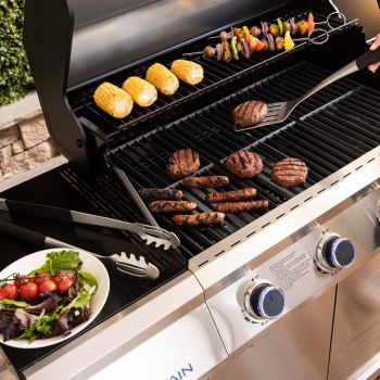 Fire Mountain Stainless Steel Barbecue Tool Set