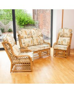 Cadiz Conservatory Furniture Set with High Back Cushions