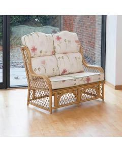 Cadiz 2 Seater Conservatory Sofa with High Back Cushions