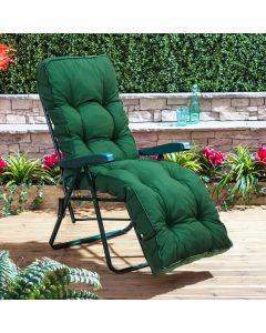 Relaxer Chair - Green Frame with Classic Green Cushion