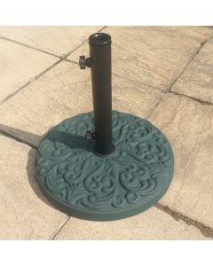 25kg Round Patterned Concrete Parasol Base