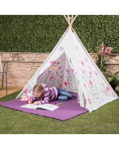 Kids Butterfly Teepee with Window