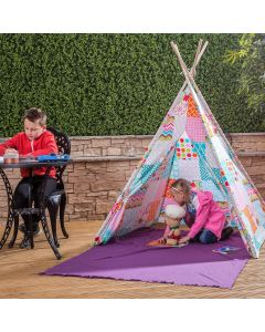 Kids Floral Patchwork Teepee
