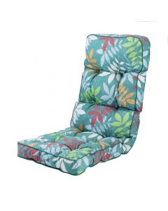 Classic Recliner Cushion in Alexandra Green Leaf