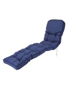 Classic Sun Lounger Cushion in Blue