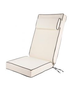 Luxury Recliner Cushion in Cream