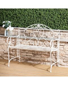 Venice Wrought Iron Garden Bench