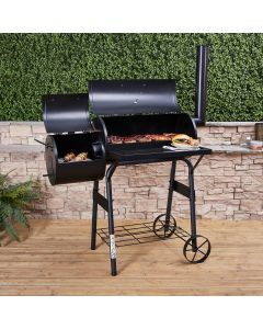 American Charcoal Barbecue Smoker