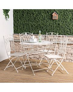 Verona Wrought Iron Dining Set