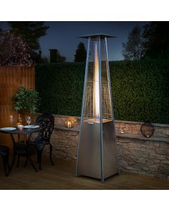Living Flame Gas Patio Heater