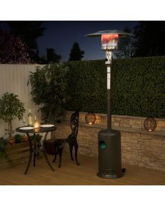 Classic Grey Gas Patio Heater