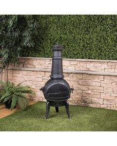 Madrid Cast Iron Chiminea