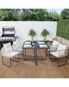 Cosmopolitan Garden Dining Set (Square)