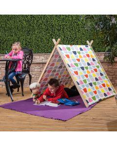 Kids Geometric Patterned Tent