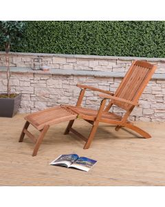 Wooden Steamer Deck Chair