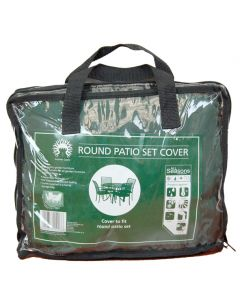 Round Patio or Garden Furniture Set Cover