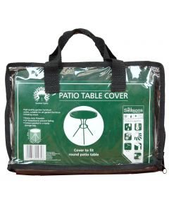 Round Patio or Garden Table Cover