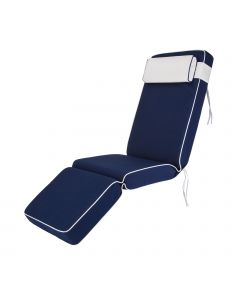 Premium Relaxer Cushion in Navy Blue