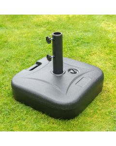 Square Plastic Parasol Base - Water Filled